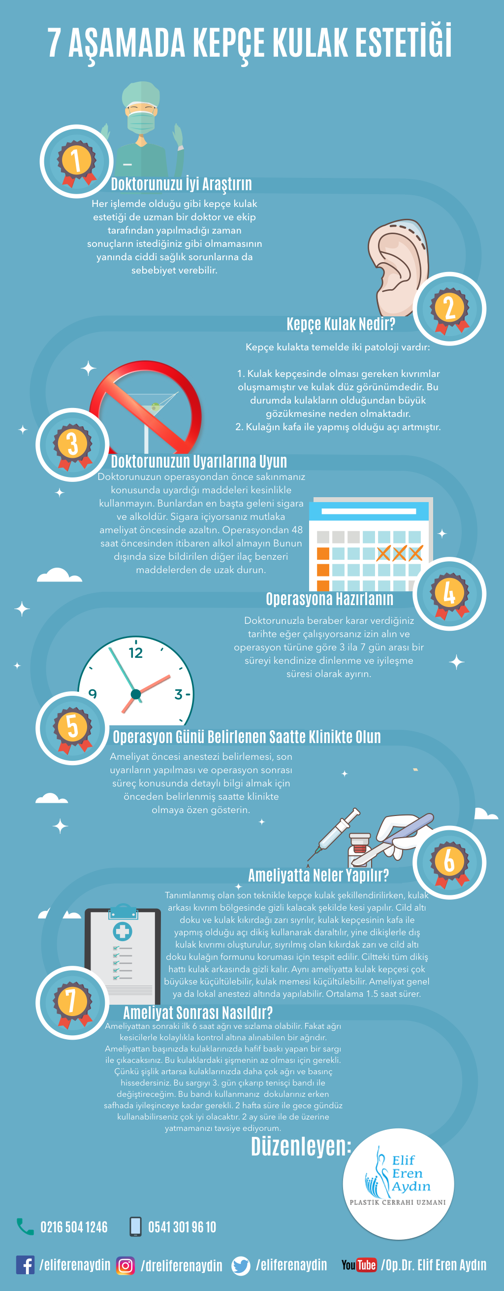 kepçe kulak infografik